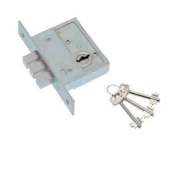 Допълнителна касова брава с три шипа – Е50