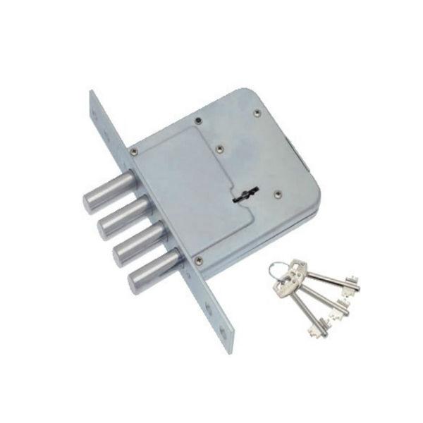 Допълнителна касова брава с четири шипа